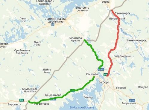 Движение большегрузов ограничат по трем мостам на подъезде к МАПП Светогорск на трассе А-181 в Ленобласти • Портал Дороги России •