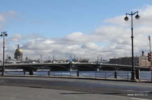 В ночь на 2 мая в Петербурге мосты не разведут • Портал Дороги России •