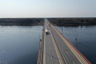 На майские праздники снимут ограничения движения на Ладожском мосту на трассе Р-21 в Ленобласти • Портал Дороги России •