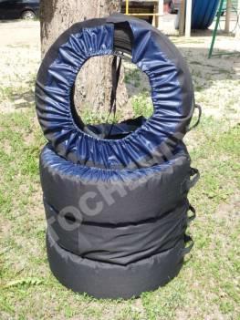 Чехлы для хранения и перевозки колес CoverKraft комплект из 4-х штук. 17-20 радиус