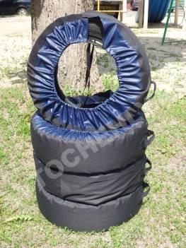 Чехлы для хранения и перевозки колес CoverKraft комплект из 4-х штук. 13-16 радиус